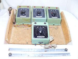 Trix Express 5599 Trafo -  3 Stück Transformator Fahrgerät + 1 defekter