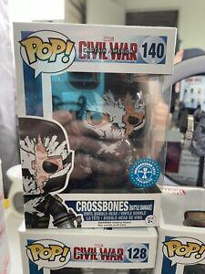 Funko Pop! Marvel: Captain America 3 - Crossbones