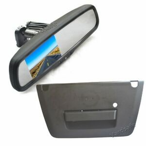 Reversing Camera & Rear View Mirror Monitor for Nissan Frontier