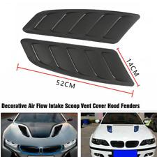 Car Hood Air Intake Scoop Decor Bonnet Decoration Sticker Air Flow Fender Cover