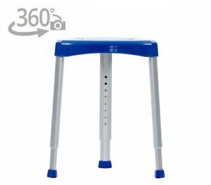 Eck-Duschhocker Badestuhl Duschstuhl blau Neu OVP