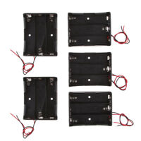5x DIY Battery Case Holders for 3 x 3.7V 18650 Li-ion Rechargeable Batteries
