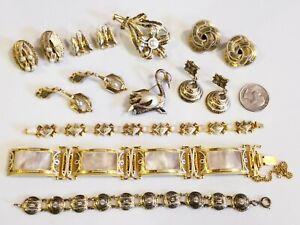 AWESOME Large Vintage Damascene Jewelry LOT Spain