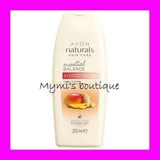 Shampoo + After-sh. rebalancing hair greasy Avon Naturals mango ginger