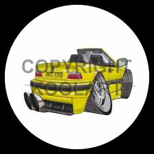 Koolart 4x4 4 x 4 Spare Wheel Graphic Bmw M3 Cabrio Sticker 393