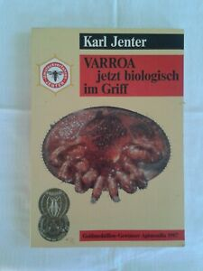 Varroa jetzt biologisch im Griff, Bienen- Imkerbuch, Fachbuch 1988