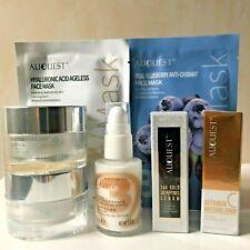 Anti-Ageing Skin Care Gift Set ~24K Gold Six Peptides Serum & Vitamin C Serum