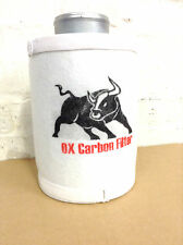 "carbon filter 100mm 4"" for extractor fan grow tent set hydroponics OX"