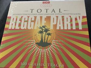 Total Reggae Party 5cd box set new sealed Free Post U.K. Marley Wailers Pioneers