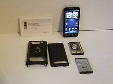 HTC EVO 4G - 1GB - Black (Sprint) Smartphone with Extra & Extended Battery/Cover