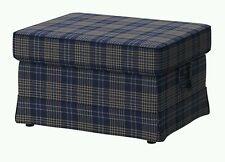 New Original IKEA Cover set for Ektorp footstool in Rutna Multicolour