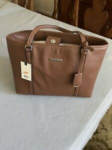 Dana Bachman Bella Tote - Large- Brown. New With Tags