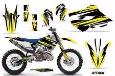 AMR Racing MX Husqvarna TC 125/250 FC 250-450 Graphic Kit Bike Decal 14-15 ATK Y