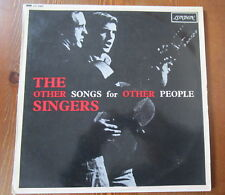 THE OTHER SINGERS RARE FOLK  LP OTHER SONGS FOR OTHER PEOPLE