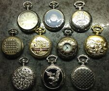 COLLECTION OF 10 HUNTER POCKET WATCHES,BY HACHETTE. ALL IN PRESENTATION BOXES.