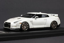 1 of 80 - Left Hand Drive - Nissan R35 GT-R  **Pearl White** - HPI 1/43 #8324