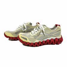 Reebok Womens Tennis Shoes Casual Lace Up Sneakers Ivory 5 Nwob Damaged New
