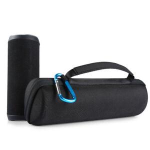Schwarz Reise Tragetasche Box Beutel Hülle für JBL Flip 4 Bluetooth Lautsprecher