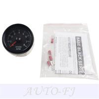 "2""52mm Black Tinted 0-8(x1000) RPM Car Transparent Tacho Gauges Meters Universal"