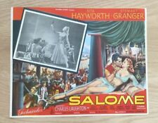 VINTAGE MEXICAN MOVIE POSTER SALOME RARE LOBBY CARD RITA HAYWORTH BIBLICAL FILM