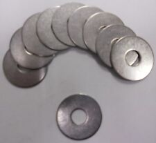 3//16 x 1 OD Plain Finish Low Carbon Steel Fender Washers 100 pk.