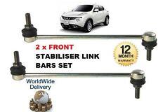 für Nissan Juke 2010- > links & rechts 2 x vorderer Stabilisator Sway