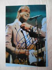 """Francis Rossi """"Status Quo"""" Autogramm signed 10x15 cm Bild"""