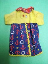 Vtg Barbie FRANCIE 70s BEST BUY Doll Clothes NAUTICAL BLOUSE 1973 8649