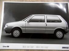 Foto Fotografie photo photograph FIAT Uno ES (900 cm3 3 Türen 5 Gänge)  SR1117