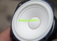 """2pcs 3""""inch 4Ω 20W full-range Speaker Loudspeaker 4Ohm Home Audio Part White pot"""