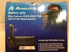 BG-E14H Battery Grip for Canon EOS 70D 80D Digital SLR Camera With Remote Contr