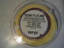 1- SPOOL TEENY FIRST CAST FLY LINE WF-6-F  (NIP)
