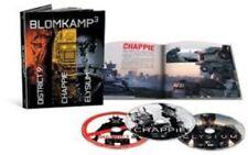 Chappie / District 9 / Elysium [New Blu-ray] UV/HD Digital Copy, 3 Pack