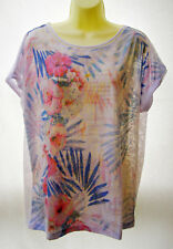 Suzanne Grae floral T-shirt ~ Size XL / 16 ~ BNWT