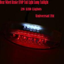 28 LED Rear Wheel Brake STOP Tail Lights Lamp Taillight For Harley Yamaha Ducati