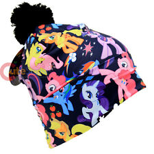 My Little Pony Beanie Characters All Over Print Sublimated Hat with Pom
