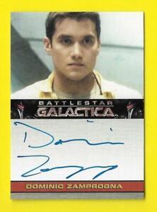 2009 Battlestar Galactica Season 4 Autograph Dominic Zamprogna as Jammer