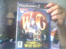 Jeu Playstation 2 Wallace & Gromit  Le  mystere du lapin garou