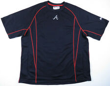 Fred McGriff Atlanta Braves Game Used Spring Training Majestic MLB Pullover
