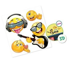 Giant Emoji Stickers Emoji Party Supplies Classroom Decorations Classroom Dec...