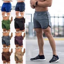 Men's Fitness Sports Shorts Football Pants Dri Fit Gym Workout Training Running