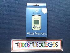 Visual Memory Dreamcast Dream Cast EXCELENTE CONDICION
