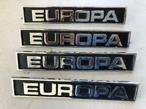 "LOTUS EUROPA S2 BOOT LID BADGE ""EUROPA"""
