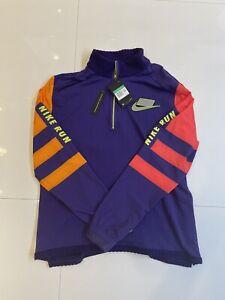 Nike Wild Run Therma Long-Sleeve Running Top Jacket Purple Men's XL (BV5603-547)