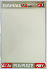 Tamiya 70126 Clear Pla Plate 0.2mm thick B4 Size 5pcs