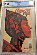 Uncanny Avengers # 7 CGC 9.8. Women Of Power Variant Cover Edition First Print!!