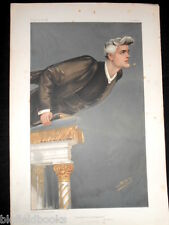 Rev R J Campbell 1904 Clerical/Methodist: Original Edwardian Vanity Fair Print