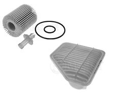 FOR TOYOTA VERSO AURIS AVENSIS 2.0 2.2 D4D ENGINE OIL AIR FILTER SERVICE KIT 07-