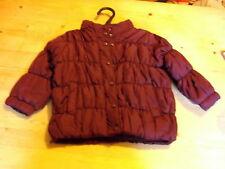 Esprit Entièrement Doublé Veste matelassée avec capuche 12 mois 80 cm bourgogne entièrement neuf sans étiquette