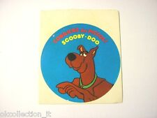 ADESIVO anni '80 / Old Sticker Vintage SCOOBY-DOO corriere dei piccoli (cm 9) b